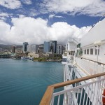 The Pride of Hawaii in Honolulu Harbor