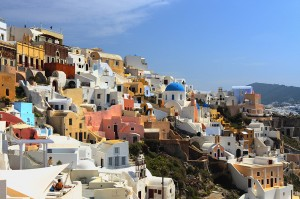 Oia's view (Santorini island, Greece)