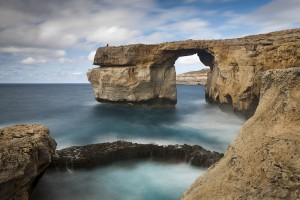 Azure Window in Gozo Island, Malta