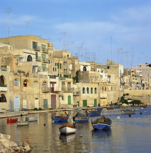 Saint Julian's Bay in Malta
